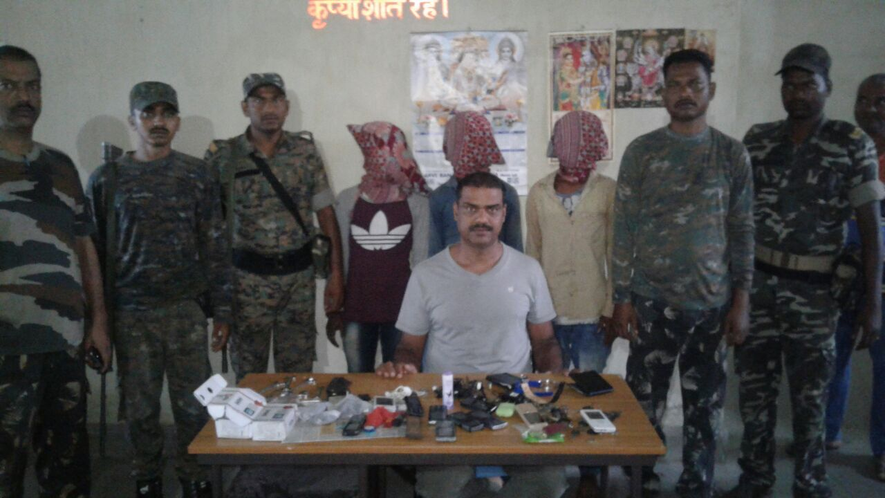<p>Bokaro / Gomiya police caught a gang of motorcycle thieves at around 2:30 AM in the morning during routine night patrol.The gang members were caught from a secluded place of the&#8230;