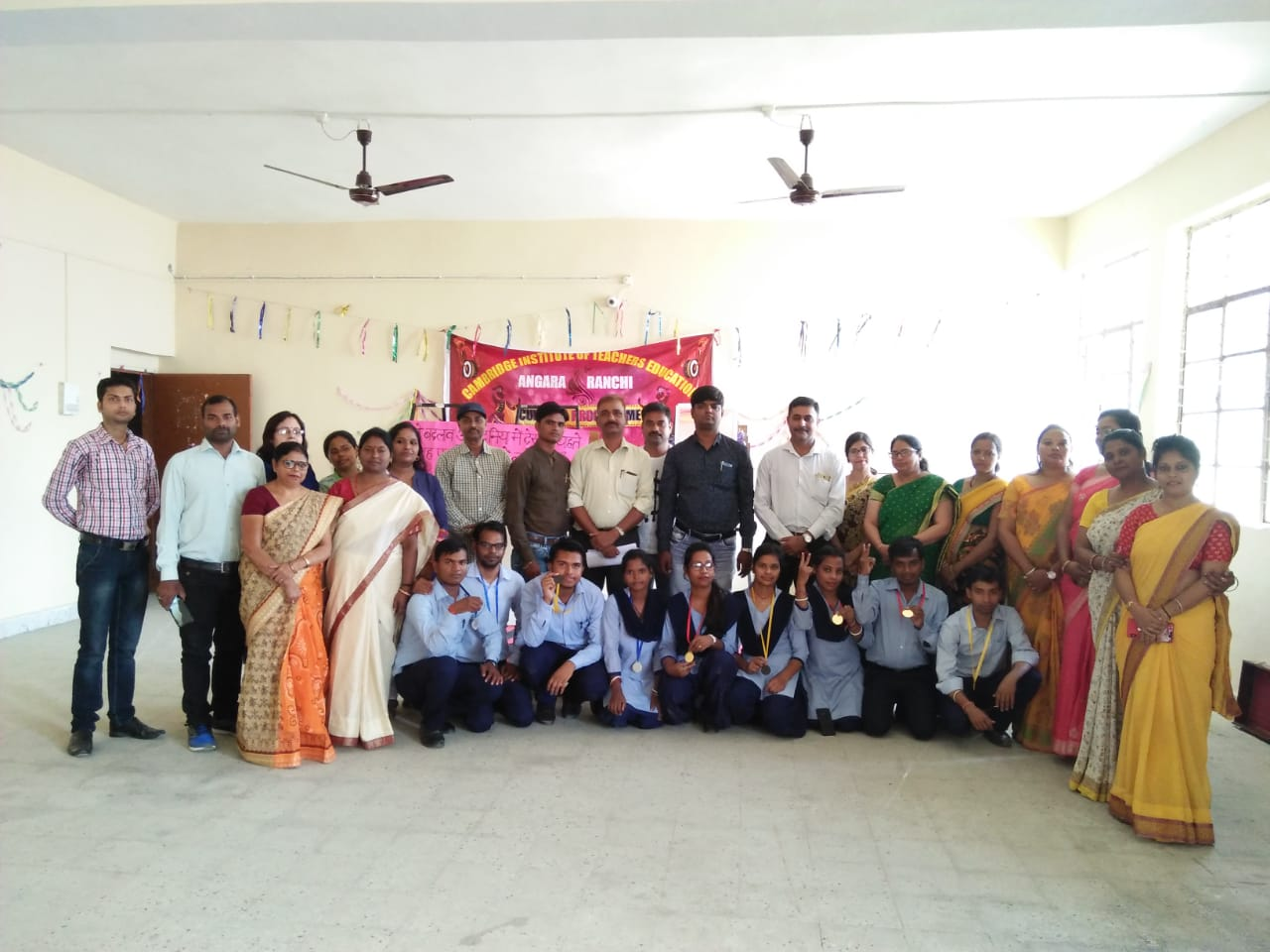 <p>The 150th birth anniversary was celebrated at Cambridge Institute of Teachers Education at Angara, in which students of D.EL.ED and B.Ed course participated in street play, dance,…