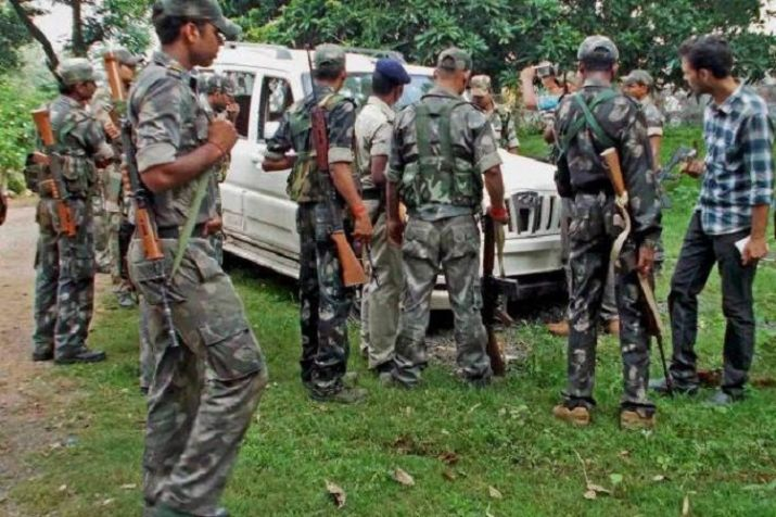 <p>Security forces shot dead one veteran Maoist in an encounter in Bihar-Jharkhand border. The Special Tax Force got engaged in an encounter after Maoists opened fire on them. The…