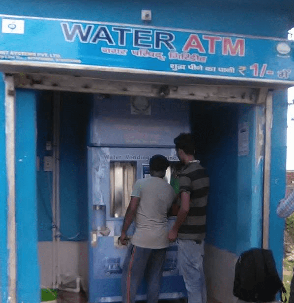 <p>Water ATMs installed in Giridih to serve drinking water to people,a feature likely to set a trend across Jharkhand.</p>