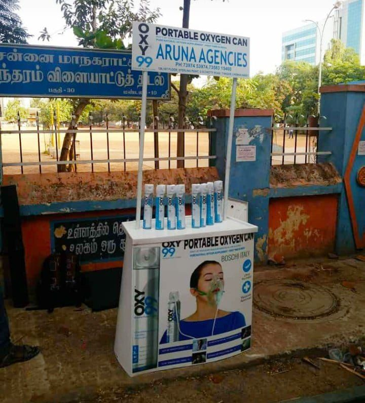 <p>Oxygen is on sale at road side in Chennai. Already is on hot sales through Flipkart. 6 litre of oxygen is available for Rs. 635. Future is coming so fast....Only solution to save&#8230;
