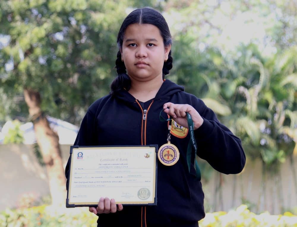 <p>The state Level Grand Finale of Wiz National Spell Bee was held on 24th September 2017 at St. Xavier&rsquo;s School, Bokaro. Shatakshi Dasgupta of &nbsp;Std. VII secured the first&#8230;