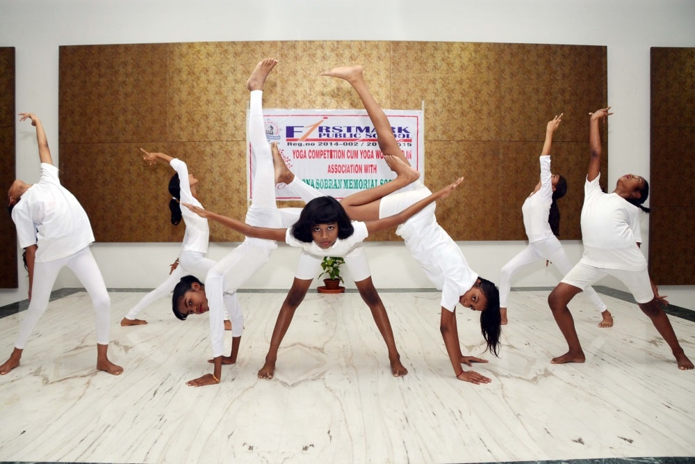 <p>School students performs Yoga during the Yoga Competition cum Yoga workshop in association with Sona Sabran memorial society at First Mart Public school in Ranchi&nbsp;on Monday.</p>&#8230;