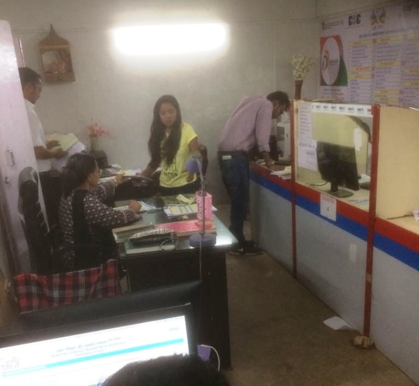<p>Women empowered CWC (Pragya Kendra) trying to provide quality service to citizens, especially senior citizens, women and persons with disability at Collectorate,Block A, near Record…