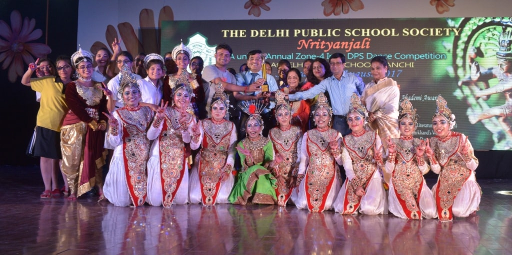 <p>Annual Inter DPS Dance Competition-NRITYANJALI held at DPS Ranchi on saturday.Students from 13 DPS schools from across the country participated in the competition.&nbsp;</p>
