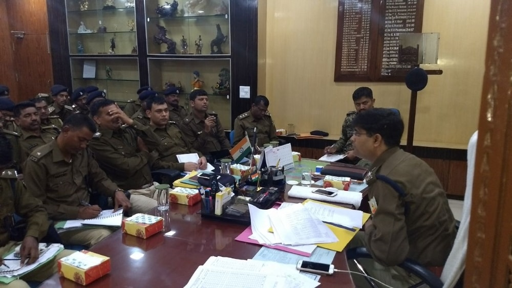 <p>On Monday the monthly crime session was organized by the Hazaribagh SP Anup Birthar, in which crime combat &amp; prevention, ending of the Naxal menace etc. were discussed with&#8230;