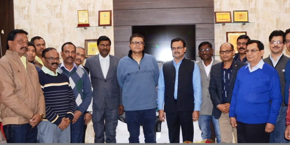 <p>मुख्यमंत्री सचिवालय में मुख्यमंत्री के प्रधान सचिव संजय कुमार के सम्मान में आज विदाई समारोह का आयोजन किया गया। इस अवसर पर मुख्यमंत्री के सचिव सुनील कुमार वर्णवाल तथा मुख्यमंत्री&#8230;