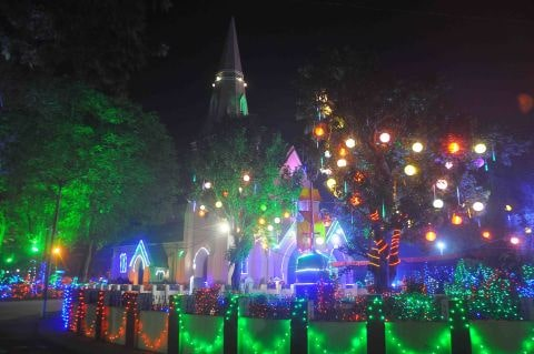 <p>As Merry Christmas arrives, Church premises wore a festive look. The Christian community belonging to both Catholic and Protestant families visited Churches where walls and buildings…