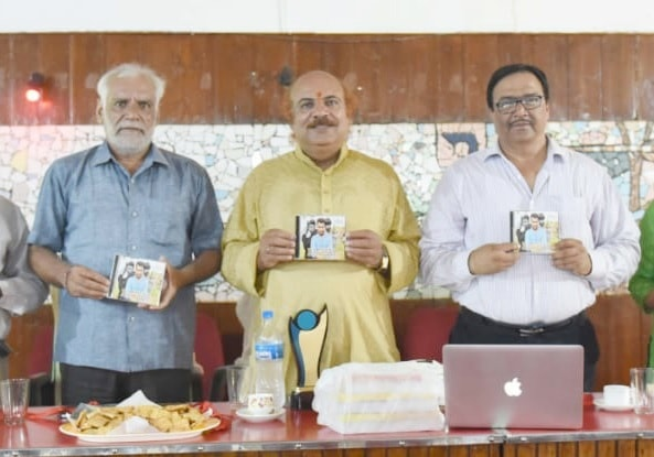 <p>Director Saikat Chattopadhyay, Deputy Director North A K Mishra along with others releases a short film &quot;Bachao&quot; on Monday.&nbsp;</p> <p>The film &#39;Bachao&#39; was&#8230;