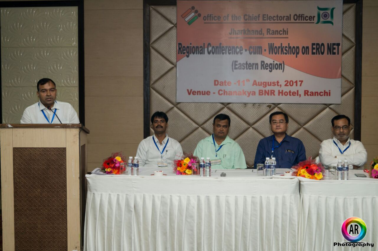 <p>Representatives of five states-Bihar,West Bengal,Odhisa,Jharkhand and Chhatisgarh-are taking part in Chief Election Commision directed &#39;Regional Conference -cum-Workshop on&#8230;