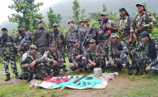 <p>During a search operation, security forces have recovered a huge cache of CPI(Maoist)&#39;s explosives including hand grenades, steel container, detonator, codex wire, fuse and&#8230;