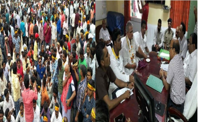 <p>Protest against closure of Dhanbad-Chandrapura Railway traffic took a turn today when scores of supporters of Ex Minister Samresh Singh and a body called Tiger Force leader Dharnheet&#8230;
