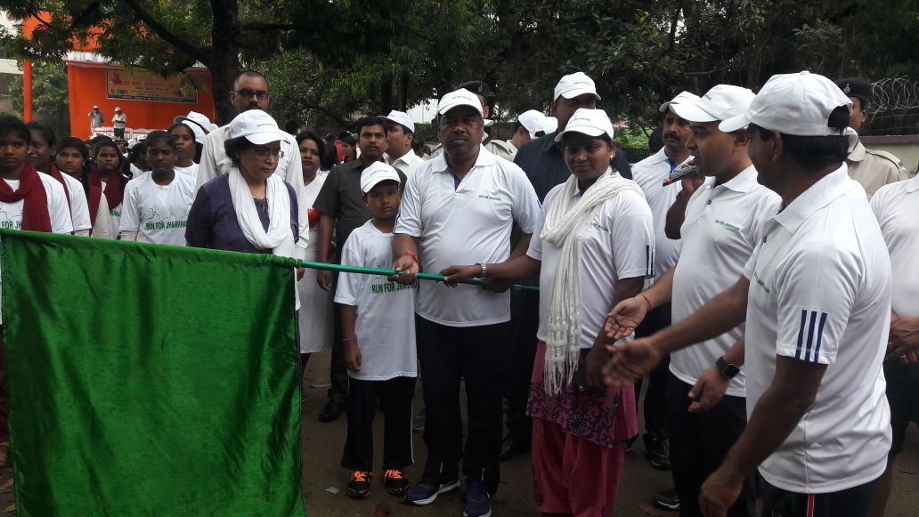 <p>Rural Development Minister,Nilkant Singh Munda participated in the program &#39;Run for Jharkhand&#39; held in Khunti District on wednesday. Deputy Commissioner of the District&#8230;