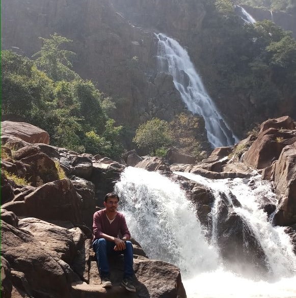 <p>Nature's beauty- A waterfall in Netarhat area of Latehar district, Jharkhand.</p>