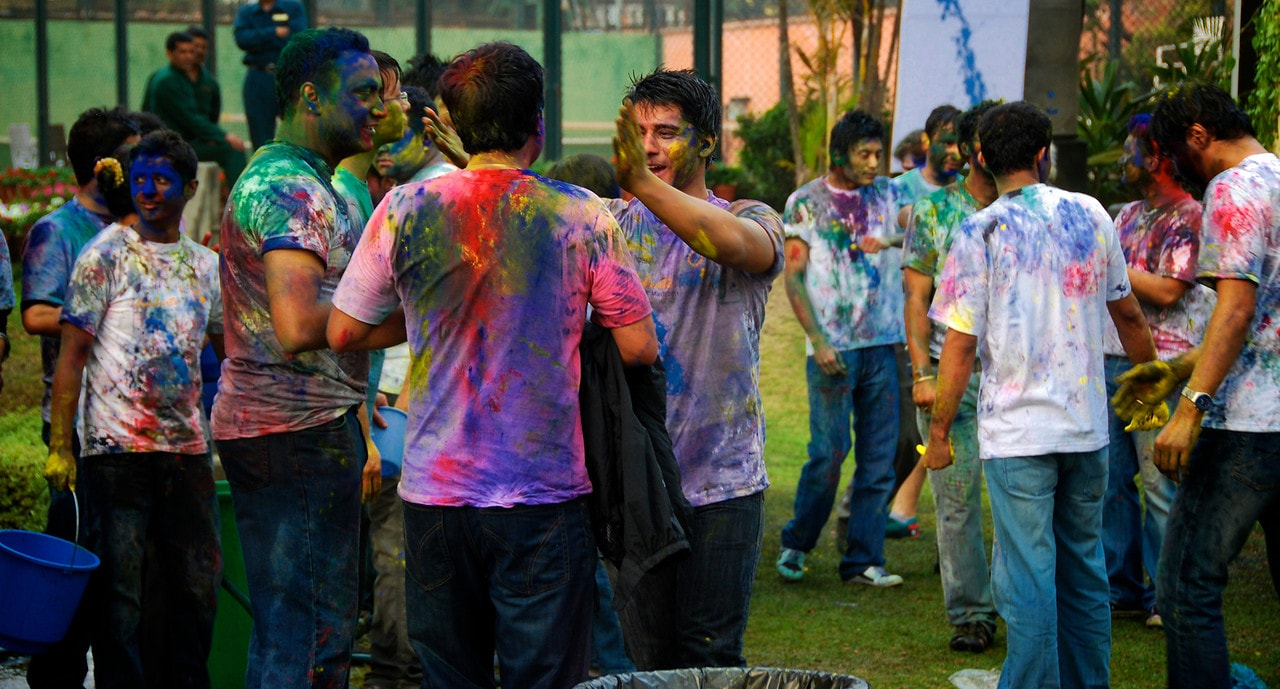 <p>Wishing you all a very happy Holi.Enjoy and have fun,but not at the cost of others pain and grief.</p>