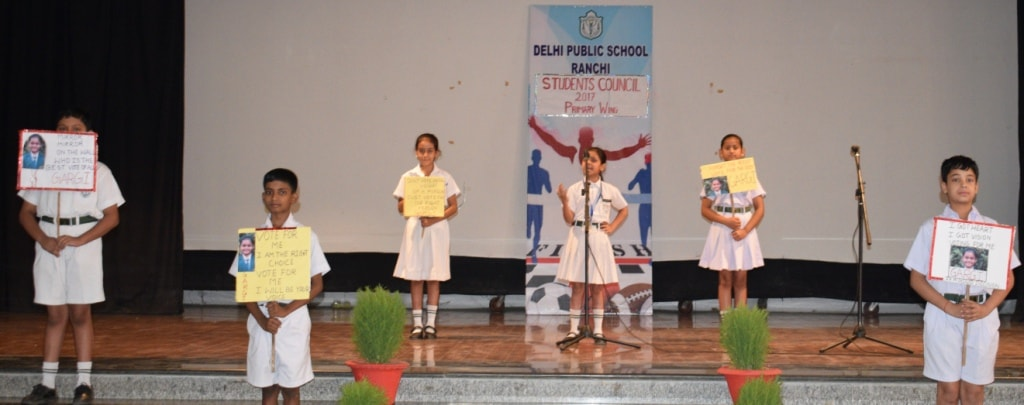 <p>Democracy at its peak in Delhi Public School its student council election. Leadership is the capacity to transform vision into reality. Nurturing the budding leaders and inculcating&#8230;