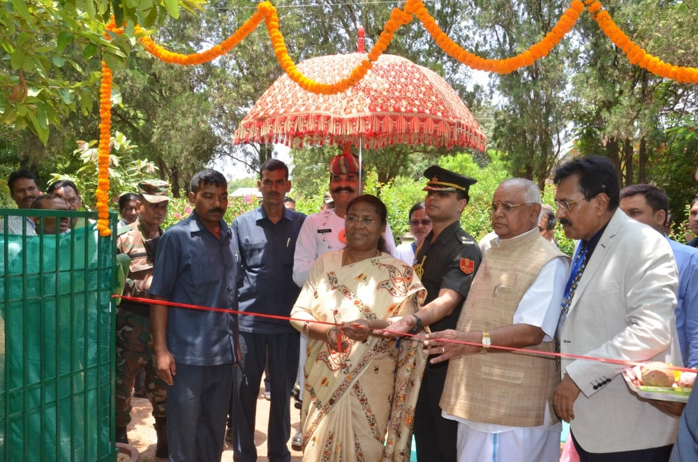 <p>On the 54th establishment day function of the Central Tasar Research and Training Institute,Jharkhand Governor Draupadi Murmu visited the site and addressed its staff,teachers and&#8230;