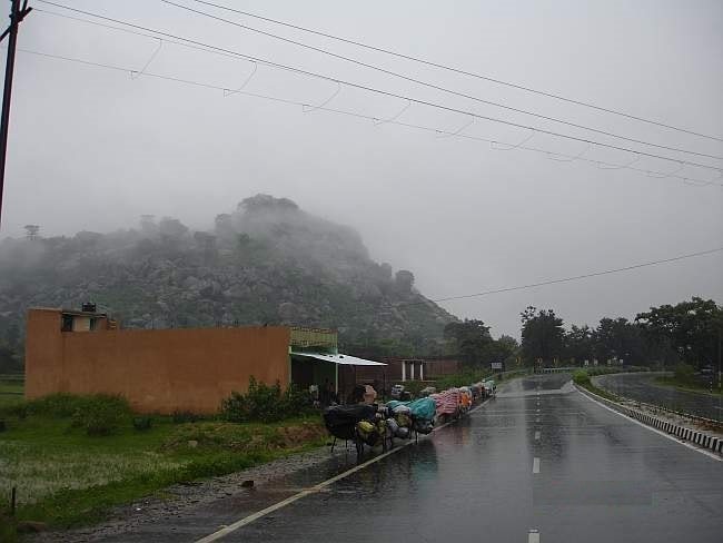 <p>Monsoon about to arrive in Jharkhand.Already the cloud and wind generating freshness in the air can be seen and felt.</p>