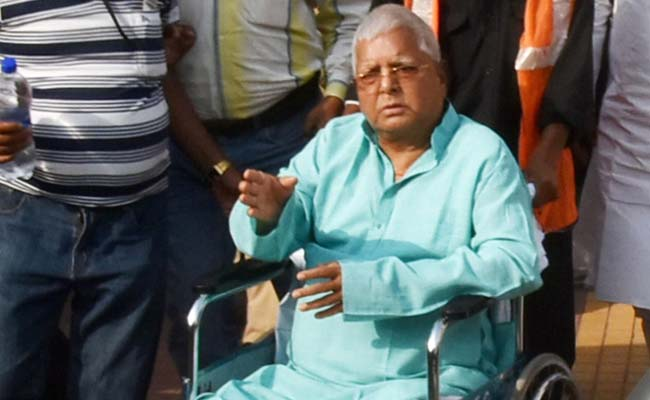 Lalu back to Patna from Mumbai