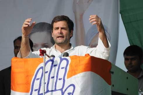 Rahul Gandhi hits out at Narendra Modi in Jharkhand