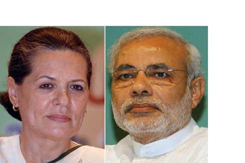 Sonia Gandhi, Narendra Modi move around Jharkhand for votes