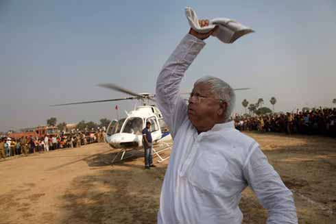 'Acche Din' will never come, says Lalu