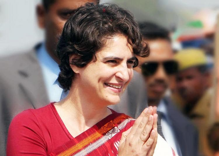 ahead-of-general-election-priyanka-enters-politics-in-politically-crucial-state-up