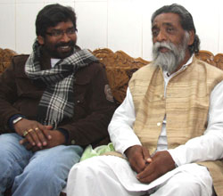 Soren still hopes to form coalition government in Jharkhand