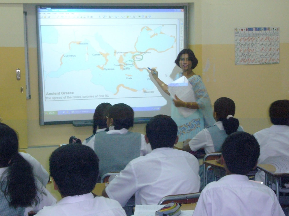 Trinity College teachers to train state govt school teachers learn English