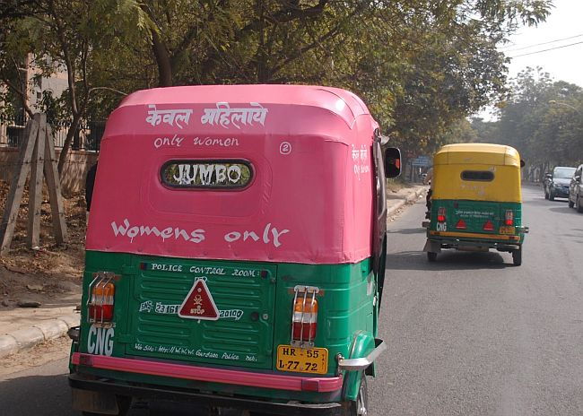 Pink auto rickshaws for women coming soon
