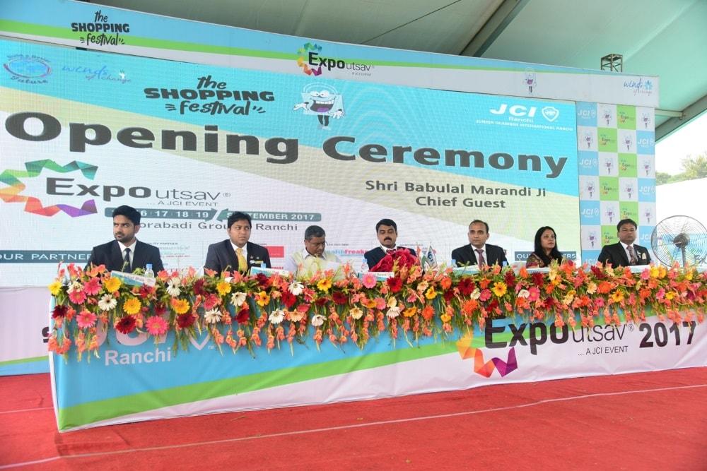 ex-cm-babulal-marandi-inaugurates-ranchi-expo-2017