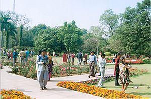 Raj Bhawan garden open for public
