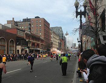 Two explosions rock Boston,78-year old man killed