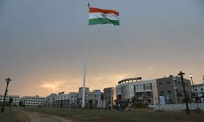 Clouds,Drizzle Greet Independence Day Celebration in Ranchi