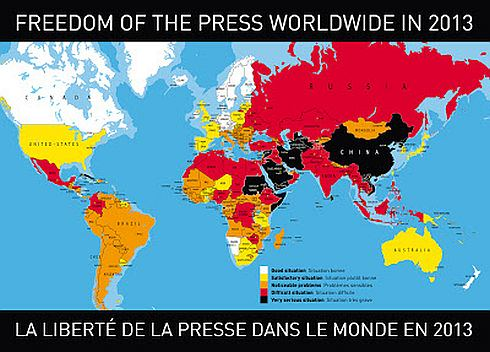 India down in press freedom index, lowest since 2002