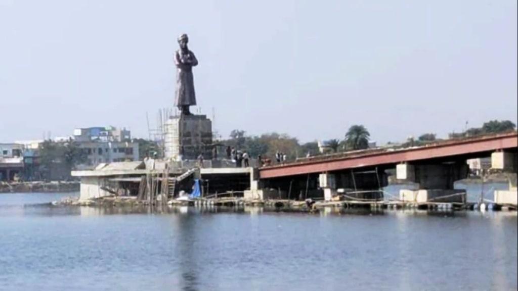 vivekananda-s-33-feet-tall-bronze-statue-to-be-installed-at-ranchi-lake