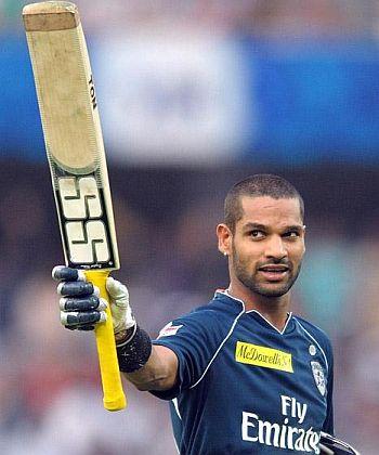 India Cricket discovers a new star-Shikhar Dhawan