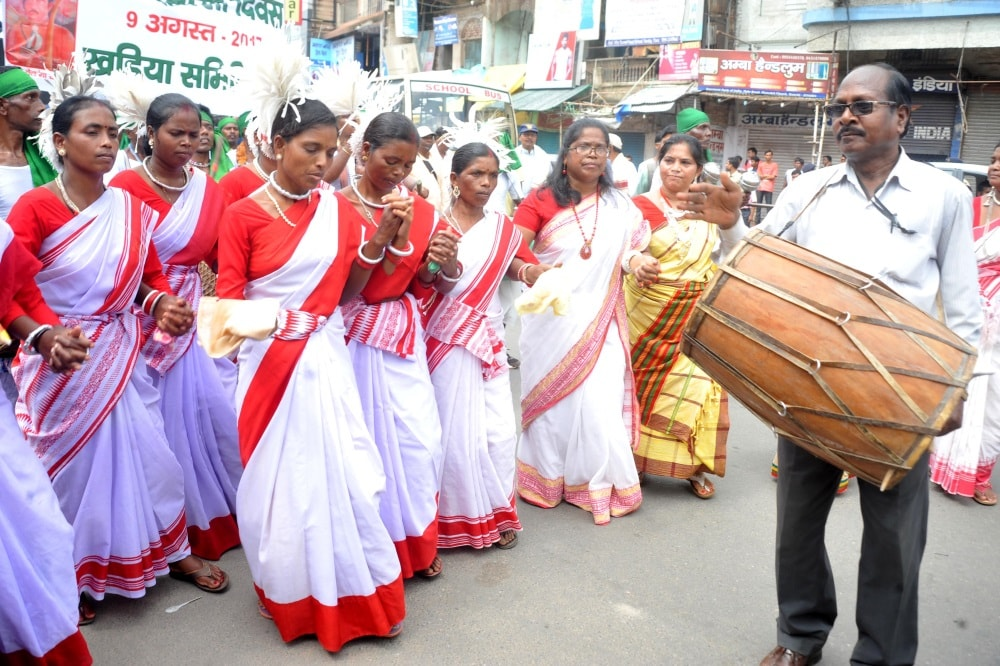 Some feel shock,others celebrate International Indigenous Day in Jharkhand