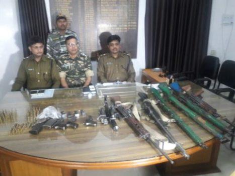 Top Maoist Kanhu Munda helps cops recover huge quantity of arms