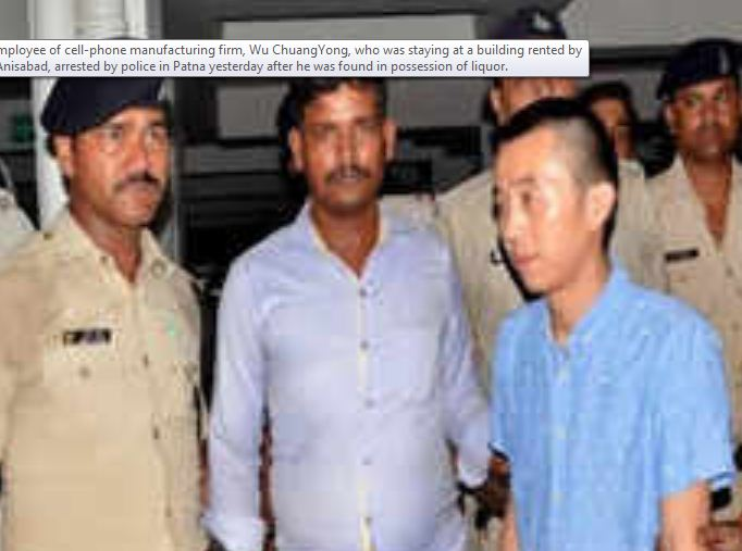 chinese-arrested-for-drinking-alcohol-in-patna