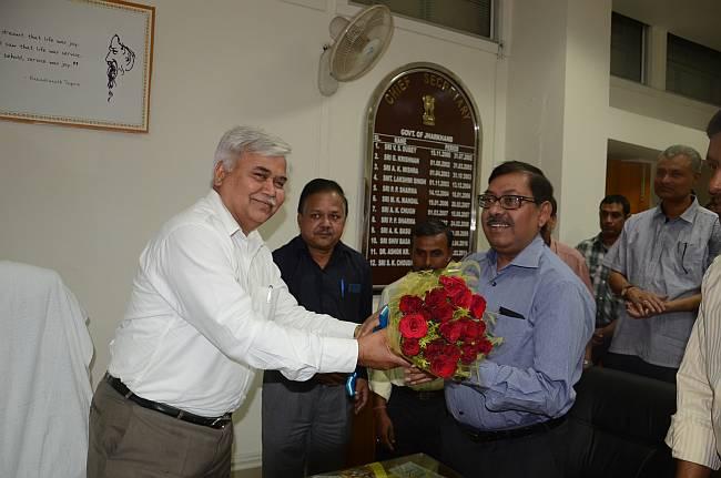 Ram Sevak Sharma is Jharkhand's new CS