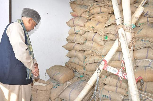System of online distribution of food grains for PDS launched