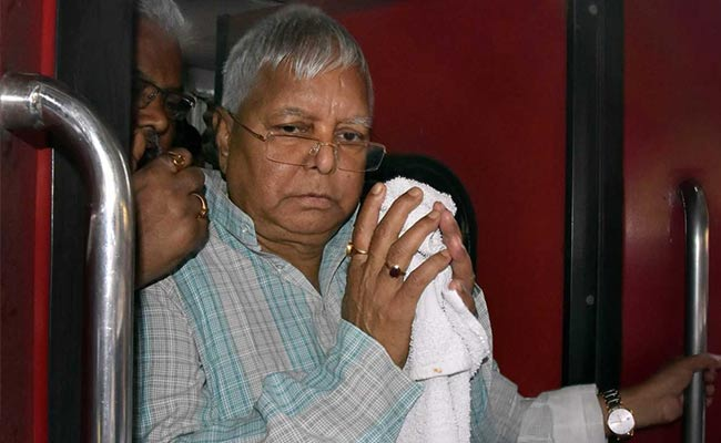 Das govt under fire for forcing ailing Lalu to travel by train