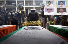 Slain CRPF jawan's father falls sick