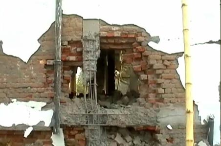 Maoists blast their ex colleague's house
