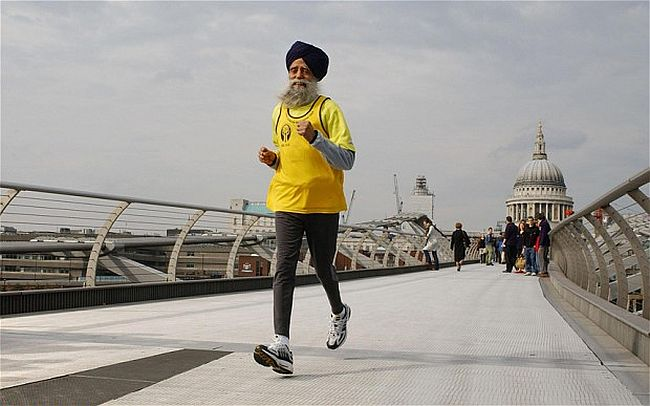 Fauza Singh retires after completing Marathon in Hong Kong