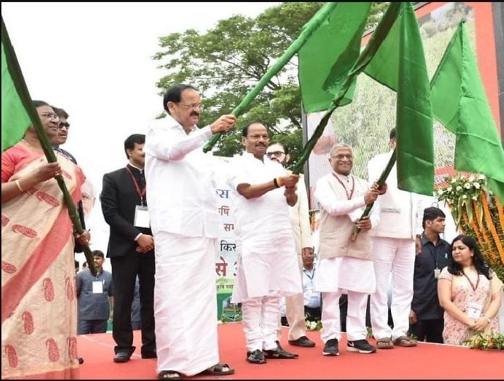 Venkaiah Naidu flags off Krishi Ashirvad Yojna to benefit 35 lakh farmers