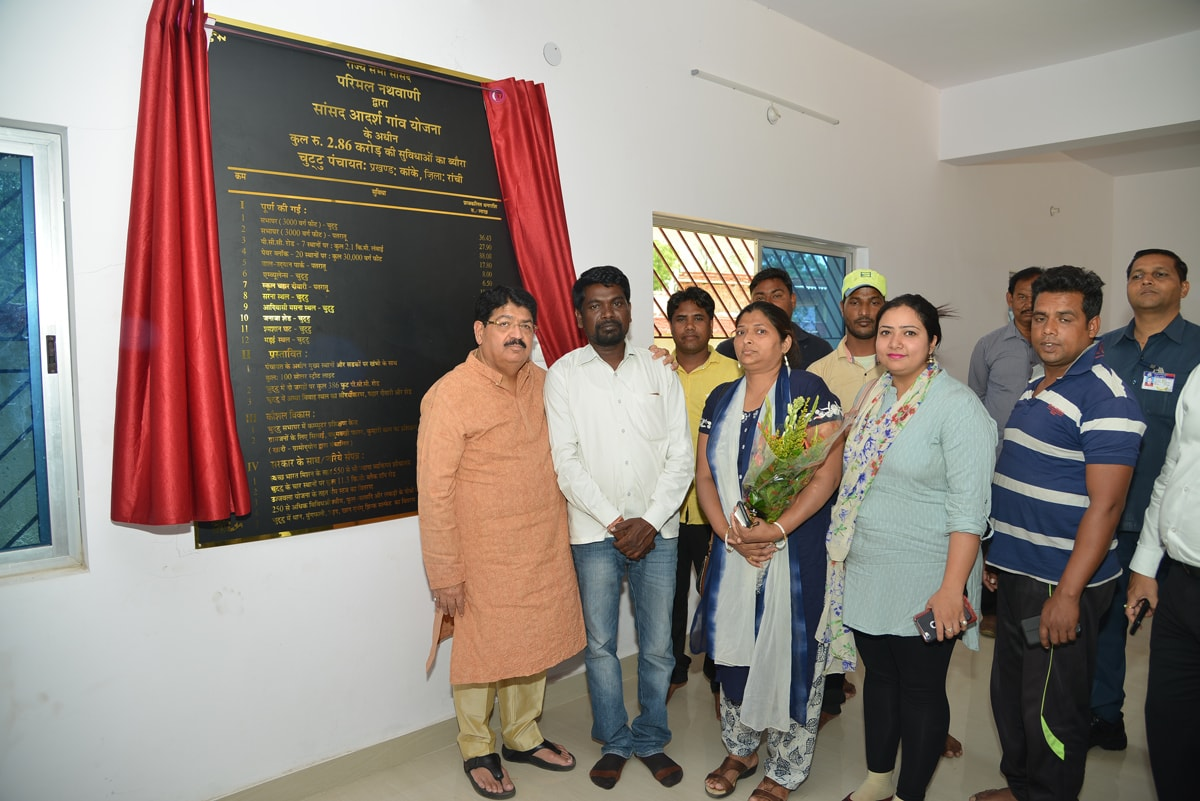Chuttu village gets roads,community halls,thanks to Nathwani