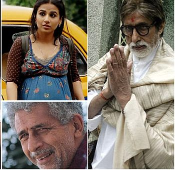 Vidya,Naseeruddin Shah and Big B to figure in Badla