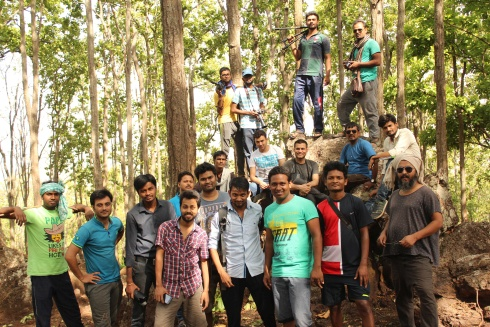 Sriram Dalton leads workshop for a film-Pani-in Netarhat